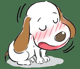 Cute Puppy 'Wini' in Roland Embley sticker #4660058
