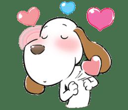 Cute Puppy 'Wini' in Roland Embley sticker #4660059