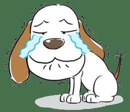 Cute Puppy 'Wini' in Roland Embley sticker #4660060
