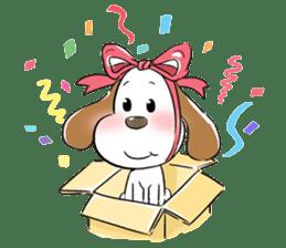 Cute Puppy 'Wini' in Roland Embley sticker #4660061