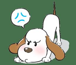 Cute Puppy 'Wini' in Roland Embley sticker #4660064
