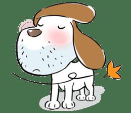 Cute Puppy 'Wini' in Roland Embley sticker #4660069
