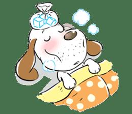 Cute Puppy 'Wini' in Roland Embley sticker #4660071