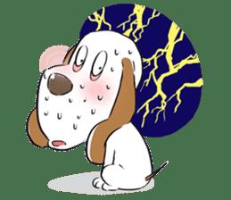 Cute Puppy 'Wini' in Roland Embley sticker #4660074