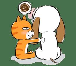 Cute Puppy 'Wini' in Roland Embley sticker #4660079
