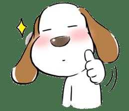 Cute Puppy 'Wini' in Roland Embley sticker #4660080