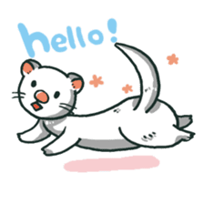 Ferret Sticker Vol.1 sticker #4660128