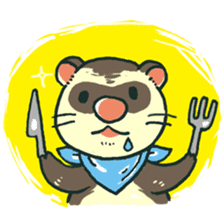 Ferret Sticker Vol.1 sticker #4660143