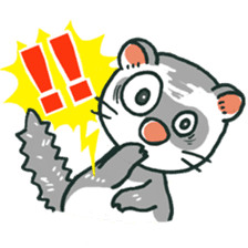 Ferret Sticker Vol.1 sticker #4660145