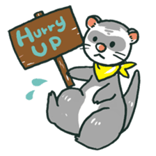 Ferret Sticker Vol.1 sticker #4660151