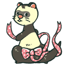 Ferret Sticker Vol.1 sticker #4660157