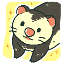 Ferret Sticker Vol.1 sticker #4660158
