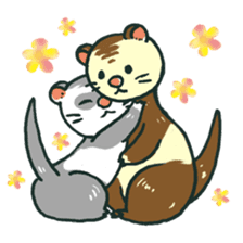 Ferret Sticker Vol.1 sticker #4660163
