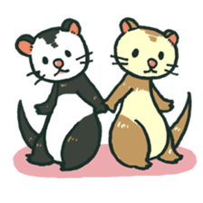 Ferret Sticker Vol.1 sticker #4660165