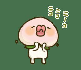 Feeling of peach 2 sticker #4672756