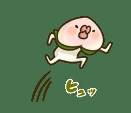 Feeling of peach 2 sticker #4672768