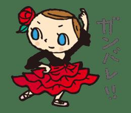 balletdancers love sticker #4672999