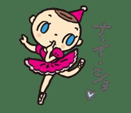 balletdancers love sticker #4673001