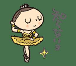 balletdancers love sticker #4673006