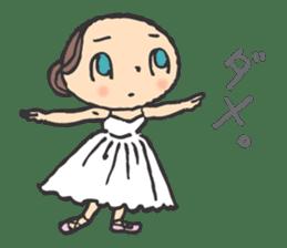 balletdancers love sticker #4673008