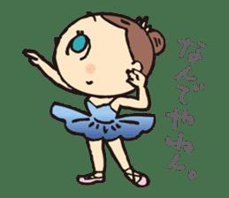 balletdancers love sticker #4673010