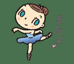 balletdancers love sticker #4673011