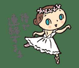 balletdancers love sticker #4673013