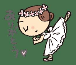 balletdancers love sticker #4673014