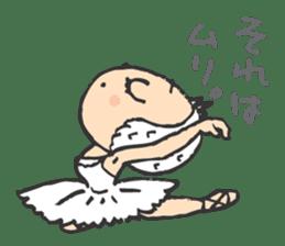 balletdancers love sticker #4673016