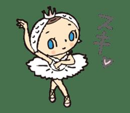 balletdancers love sticker #4673017