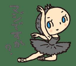 balletdancers love sticker #4673018