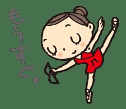 balletdancers love sticker #4673021