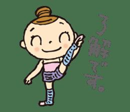 balletdancers love sticker #4673027