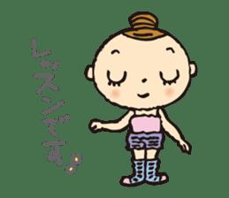balletdancers love sticker #4673029