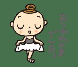 balletdancers love sticker #4673031