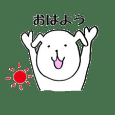 Mira and Akita-ben sticker #4676161