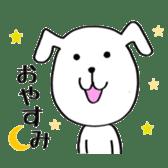 Mira and Akita-ben sticker #4676162