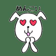 Mira and Akita-ben sticker #4676169