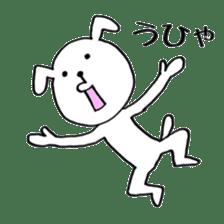 Mira and Akita-ben sticker #4676171
