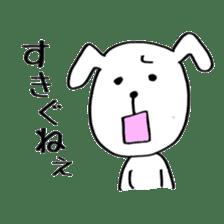 Mira and Akita-ben sticker #4676184
