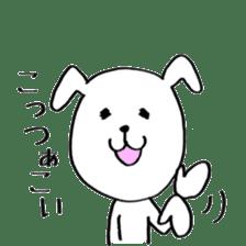 Mira and Akita-ben sticker #4676198