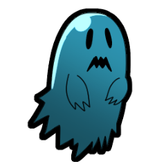 Blue Ghost boy