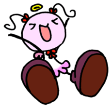 Tiny angel & tiny devil sticker #4685328
