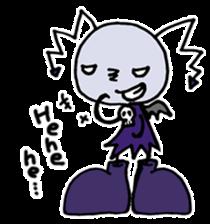 Tiny angel & tiny devil sticker #4685329