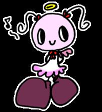 Tiny angel & tiny devil sticker #4685330