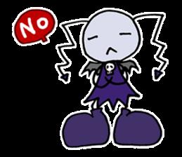 Tiny angel & tiny devil sticker #4685341