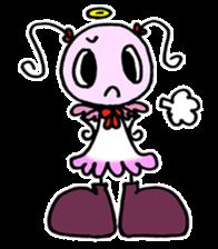 Tiny angel & tiny devil sticker #4685342