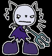 Tiny angel & tiny devil sticker #4685343