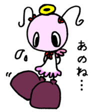 Tiny angel & tiny devil sticker #4685350