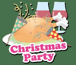 Everybody's christmas & santa claus. sticker #4686736